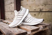 ancient statues - 1 quality Ultra Boost LTD Cream man women shoes sneakers with box