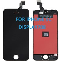 aa bar - AA New LCD Lens Screen Touch Digitizer Assembly W Frame For iPhone C Parts Black with FREE SHIPPPING