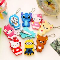 Wholesale Colorful Nail Clipper - New Nail Clippers Fashion Colorful Cute Cartoon Nail Finger Clipper Scissor w Key Chain Cutter Kid Infant Nail Clippers with Keychain