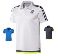 16-17 reales superior de Tailandia camisa de polo camiseta de fútbol Calidad de foot POLO del envío libre
