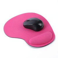 Wholesale Optical Trackball PC Thin Mouse Pad With Wrist Rest Comfort Mouse Pads Mat Mice