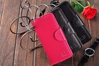 america national sport - New Men Women fashion trade in Europe and America Ms Long Tri Fold Leather Wallets