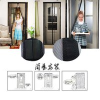 Wholesale curtain rod Hot Sale Summer pc mosquito net curtain magnets door Mesh Insect Fly Bug Mosquito Door Curtain Net Netting Mesh Screen Magnets