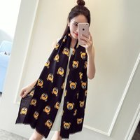 air conditioner bearing - Catwalk Case Grain Cotton and Linen Bear Scarf Cotton Air conditioner Ms Warm Shawl Scarf