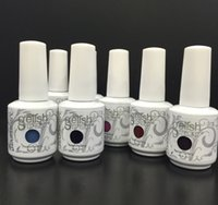 Wholesale Top quality Harmony gelish polish LED UV nail art gel ML COLORS can choose bottles