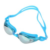 Wholesale Men Women Adjustable Swimming Goggles Water Resistant Anti fog UV Shield Protection Diving Mask Adult Diving Glasses with Box