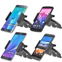 auto cell phone holder - Universal Car Auto CD Slot Mount Cradle Holder Stand for Mobile Smart Cell Phones for iphone s plus Samsun galaxy s7 edge