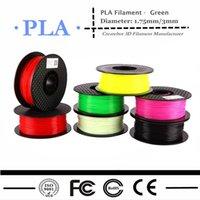 Wholesale 3d printer filament mm mm PLA Filament kg plastic Rubber Consumables Material For MakerBot RepRap UP Mendel Createbot d printer