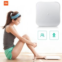 Wholesale Original Xiaomi Scale Mi Smart Weighing Scale Support Android iOS Above Bluetooth Xiaomi Losing Weight Digital Scale