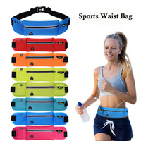 Wholesale cm Quality Multifunction Running Waist Bag Sport Packs For Music With Headset Hole Fits Smartphones Sports Bags