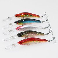 artificial fishing flies - New Blabbermouth Korean Artificial Fishing Lure cm g Bionic Flake reflection Minnow Baits Diving Depth m