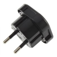 adapter store - Universal UK to EU AC Power Travel Plug Adapter Socket Converter A A V Brand New Store
