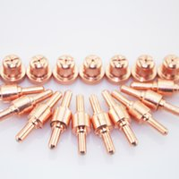 Wholesale 20pcs Short PT cutting torch Consumables for A A inverter Air Plasma Cutter and CT520 Welding machine