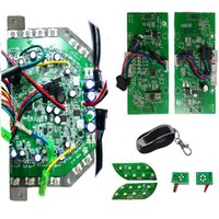 Wholesale Motherboard SET Main Board Gyroscope Key Control Lights for self balance scooter in in Hoverboard spare parts DIY