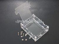 achat en gros de arduino cas uno-Uno Case Boîtier Transparent Box Acrylique Clear Cover Compatible avec Arduino UNO R3 r3 boîte vinyle