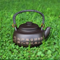 beam lift - Purple Clay Big Teapot Flat Beam Lifting Large Filter Liner ml High Capacity Yixing Authentic Discounts Selling