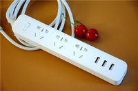 android extensions - AAA Power Strip Outlet Socket USB Extension Socket Plug Socket Charger with Socket AU Standard Socket for Android iphone