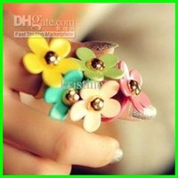 Wholesale Fashion jewelry for woman finger ring new clover finger ring jewelry price