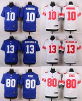 Wholesale New product football jerseys Eli Manning Odell BECKHAM JR Victor Cruz stitched can football jerseys embroidery Mix Order