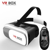 Wholesale Lose money price VR Headset VR Box II Virtual reality D glasses movies Games VR glasses for Samsung for iphone IOS for inch phone