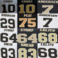 american cooking - Khiry Robinson Jersey Morten Andersen Tim Lelito Willie Snead Zach Strief Andrus Peat Brandin Cooks American Football Jerseys Elite