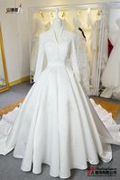 Wholesale High end foreign trade to make elegant series detachable small shawl strapless long trailing with new wedding dress