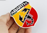 Wholesale 5pcs Brand New Metal D Badge Emblem Sticker Decal for Fiat Abarth D badges emblem autocollant