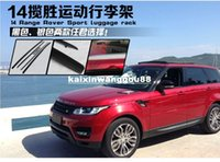 Wholesale High Quality Car screw fixing Roof Rack Luggage rack Roof Racks Accessories For Land Rover Range Rover Sport