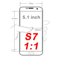 android unlocked smartphones - Goophone Unlocked Inch S7 Copy Android Smartphones Dual Core Show Fake GB RAM GB ROM G Lte bit Mobile Cell Phones