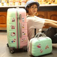 Wholesale pull rod box wanxianglun suitcase steamed stuffed bun mother box password to inches Korea luggage female