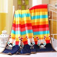 bed sheet and blankets - Coral Fleece Blanket Flannel Fleece Blanket cartoon Spring and Summer Towels Sierran Blanket For Bedding Sheet For Bedroom
