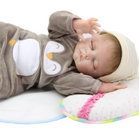 baby dolls that look real - 22 Inch Realistic Reborn Baby Doll Silicone Vinyl Body Sleeping Newborn Babies Boy Boneca That Look Real Kids Birthday Gift