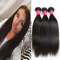 Wholesale 7A Unprocessed Russian Straight Virgin Hair Bundle Deals Remy Human Hair Extensions Brazilian Indian Russian Straight Hair Human Hair Weave