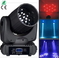 Wholesale 12pcs RGBW in1 w LED Beam Moving Head Light Degrees Beam Angle CH W one year warranty