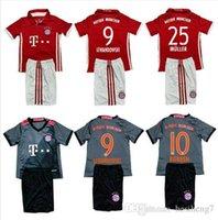 bayern kids - TopThai jerseys Bayern kids Soccer Jerseys youth jerseys football shirts MULLER VIDAL GOTZE Lewandowski ET