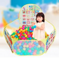 ball pit house - Best Kid Safety Play House Tents Ocean Balls Pool Children toy ball pit ball tent kids toys outdoor child tent