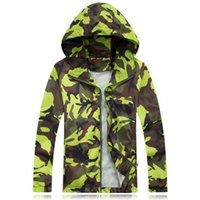 Wholesale XL Army Camouflage Softshell Thin Waterproof Jacket Male Military Camo Quick Dry Rain Coat Outdoor Sport Trekking Jacket UA043