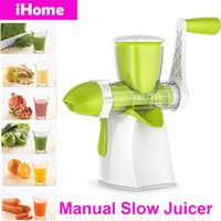 apple juice juicer - Manual Slow Juices Extractor Blend Fresh Health Apple Orange Celery Pomegranates Maize Corn Fruit Juicer Daily Kitchen Tools