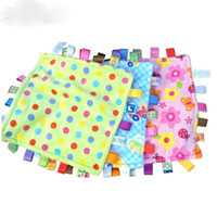 Wholesale 30 cm Baby appease towel Baby calm wipes baby towel YYT015 YYT021