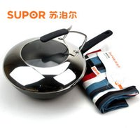 Cheap Wholesale-Cast iron pot stainless steel wok cast iron pan fc30l1 fc32l1 electromagnetic furnace general