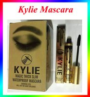 Wholesale Kylie cosmetic Gold Birthday Kylie Mascara Magic thick slim waterproof mascara Black Eye Mascara Long Eyelash Charming eyes Cosmetic