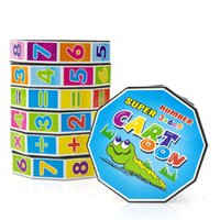 Wholesale Fashion Mathematics Numbers Magic Cube Toy Puzzle Game for Children Kids Math Education and Joy Math Tool Developmental Baby Toy