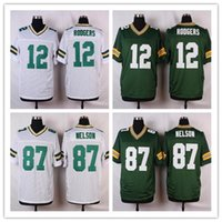 aaron shipping - Mens New football jersey Bay Packers Soccer jerseys Aaron Rodgers Matthews Jordy Nelson cheap White rugby shirt free ship