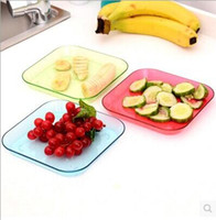 Wholesale hot sale Dishes Plates Korean fashion Japanese Dishes Saucer Snack Tray Fruit Tray candy color Plates Serving Tray
