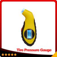 air pressure manometer - Car Air Digital Tire Pressure Gauge Electronic Manometer Tyre Vacuum Motorcycle Pressure Diagnostic Tools LCD Car Accessories