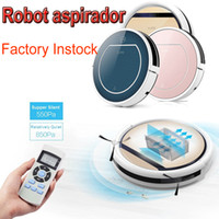 Wholesale ILIFE Beetles V5 V5PRO V7 V7S Robotic Vacuum Cleaner Wet Dry Home household cleaning Double Filter Ciff Sensor Self Charge Smart ASPIRADOR
