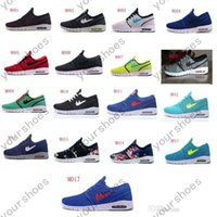 Wholesale 2016 new color Stefan Janoski Max Sneaker Hot sell Summer fashion Men s Running Sport Shoes US Size7