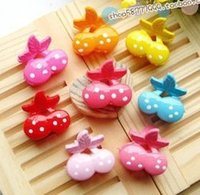 Wholesale HOT off Assorted Bangs Mini Hair Claw Clip HairPin Flower hair Accessories for Girl Women Cartoon Baby hair clip Mix Colored