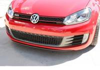 Wholesale Carbon Fiber Front Center Lip Kits Fit for VW Golf VI MK6 GTI Bumper