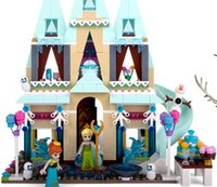 assembly class - High grade frozen villa type toy gift assembly class for children development puzzle more loving colors and a variety of styles the distri